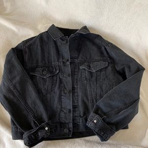 BDG Black Denim Jacket